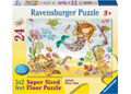 Junior Mermaid SuperSize Puzzle 24pc