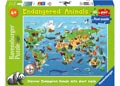 Ravensburger - Endangered Animals Puzzle SuperSize 60pc