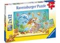 Diving Adventure Puzzle 2x12pc