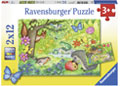 Ravensburger - Animals in Our Garden Puzzle 2x12pc