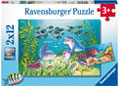 Ravensburger - On the Seabed Puzzle 2x12 pieces