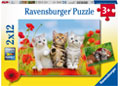 Ravensburger - Kitten Adventures Puzzle 2x12pc