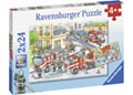 Ravensburger - Heroes in Action Puzzle 2x24pc