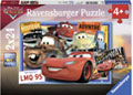 Ravensburger - Disney Two Cars Puzzle 2x24 pieces