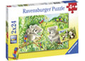 Ravensburger - Sweet Koalas and Pandas Puzzle 2x24pc