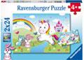 Rburg - Fairytale Unicorn Puzzle 2x24p