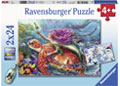 Ravensburger - Mermaid Adventures Puzzle 2x24p