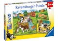 Ravensburger - Cats And Dogs Puzzle 3x49pc