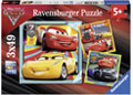 Ravensburger - Disney Cars 3 Collection 3x49pc