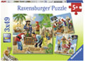Ravensburger - Adventure on the High Seas Puzzle 3x49pc