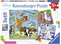 Ravensburger - Disney Friends Puzzle 3x49 pieces
