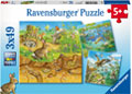 Ravensburger - Animals in their Habitats Puz 3x49 pieces
