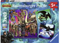 Ravensburger - HTTYD How to Train your Dragon 3x49pc