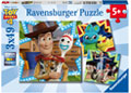 Ravensburger - Disney Toy Story 4 Puzzle 3x49 pieces