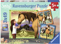 Ravensburger - Spirit Adventure on Horses 3x49pc