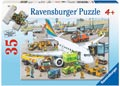 Ravensburger - Busy Airport Puzzle 35 pieces