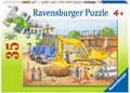 Busy Builders Puzzle 35pc