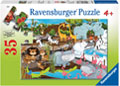 Ravensburger - Day at the Zoo Puzzle 35pc