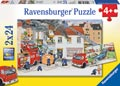Ravensburger - Busy Fire Brigade Puzzle 2x24 pieces