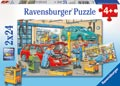 At the Service Station Puzzle 2x24pc
