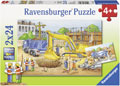 Ravensburger - Construction Site Puzzle 2x24pc