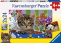 Dog And Cat Puzzle 2x24pc