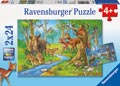 Cute Forest Animals Puzzle 2x24pc