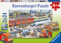 Busy Train Station Puzzle 2x24pc