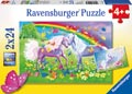 Ravensburger - Rainbow Horses Puzzle 2x24 pieces