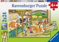 Ravensburger - Merry Country Life Puzzle 2x24 pieces