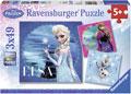 Ravensburger - Disney Frozen Elsa, Anna & Olaf Puzzle 3x49pc