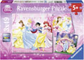 Ravensburger - Disney Snow White Puzzle 3x49pc