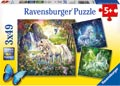 Ravensburger - Beautiful Unicorns Puzzle 3x49 pieces