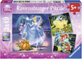 Rburg - Disney Snow White, Cinderella and Ariel Puzzle 3x49pc