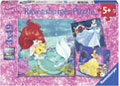 Ravensburger - Disney Princesses Adventure 3x49 pieces