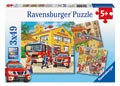 Ravensburger - Fire Brigade Run Puzzle 3x49pc