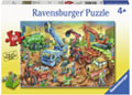 Rburg - Construction Crew Puzzle 60pc