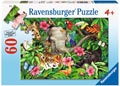 Ravensburger - Tropical Friends Puzzle 60 pieces