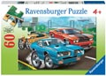 Muscle Cars Puzzle 60pc