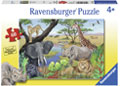 Ravensburger - Safari Animals Puzzle 60pc