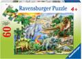 Ravensburger - Prehistoric Life 60pc Puzzle