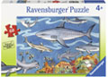 Ravensburger - Sea of Sharks Puzzle 60pc