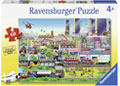 Ravensburger - Busy Neighborhood Puzzle 60pc