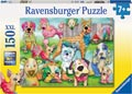 Patchwork Pups Puzzle 150pc