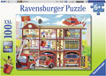Ravensburger - Firehouse Frenzy Puzzle 100pc