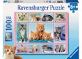 Cute Kittens Puzzle 100pc
