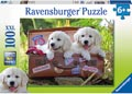 Ravensburger - Travelling Puppies Puzzle 100 pieces