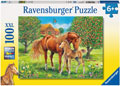 Horses in the Field Puzzle 100pc