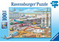 Ravensburger - Construction Site at the Airport Puzzle 100pc