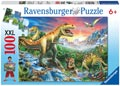 Ravensburger - Time of the Dinosaurs Puzzle 100 pieces